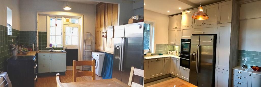 wentworth design - sunbury - feature kitchen - west london
